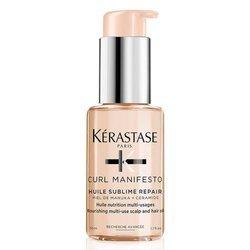 KERASTASE Curl Manifesto Huile Sublime Repair odżywczy olejek do włosów kręconych 50ml