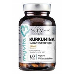 MY VITA KURKUMINA + PIPERYNA SILVER PURE 100 %