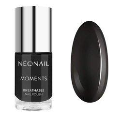 NEONAIL 7082-7 Lakier Klasyczny Pure Black 7,2 ML