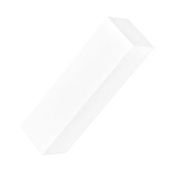 NEONAIL Czterostronny blok polerski - biały