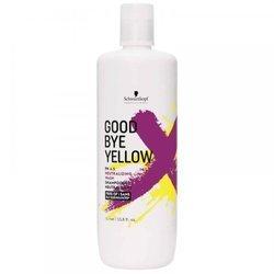 SCHWARZKOPF Goodbye Yellow szampon do włosów blond neutralizujący żółte odcienie 1000ml