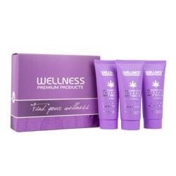 WELLNESS PREMIUM PRODUCTS mini zestaw SILVER (2x szampon 50ml, maska 50ml)