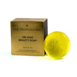 WTB Professional 24K Gold Beauty Soap - mydło do rąk, twarzy i ciała 100g